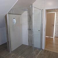 Badezimmer Panoramadusche